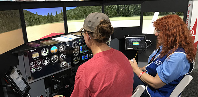 EAA AirVenture Oshkosh 2018: Pilot Proficiency Center Kicks It At OSH