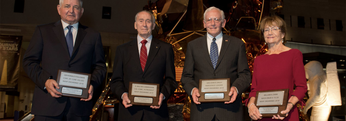 National Aviation Hall of Fame Honors Four Heroes of Aviation