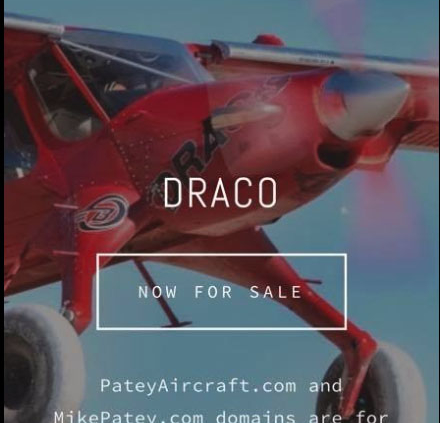 Draco, World's Coolest Airplane For Sale Scam