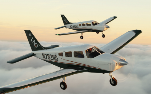 Piper Delivers Eight Archers to Dallas Flight School Location