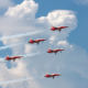 Swiss Jet Team Accidentally Flies Over Wrong Festival!