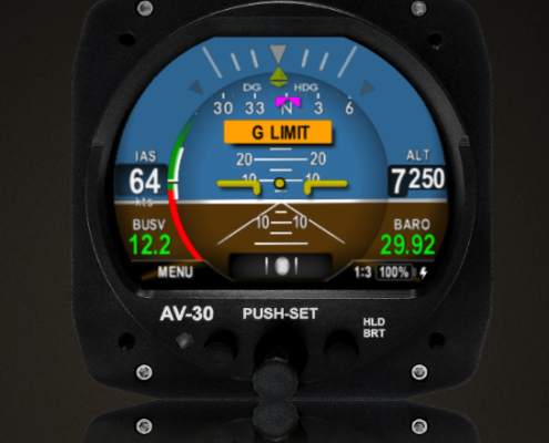 UAvionix Buys Display Maker AeroVonics