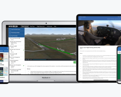 New Features In Sporty's Learn to Fly, Instrument Courses